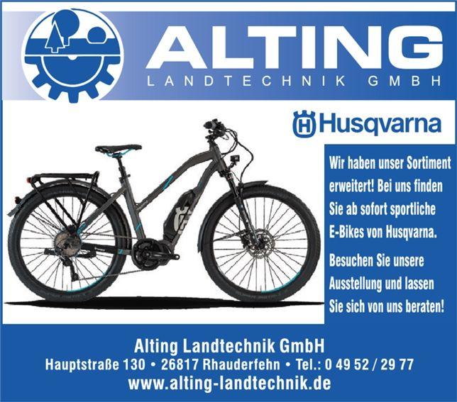 E-Bike Anzeige